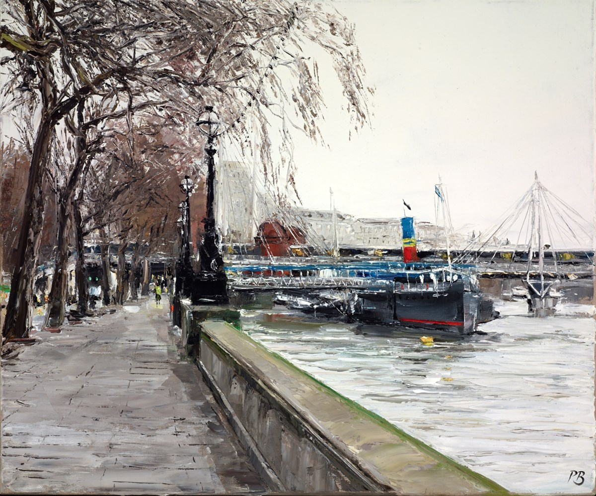 The Tattershall Castle by david porteous butler -  sized 24x20 inches. Available from Whitewall Galleries
